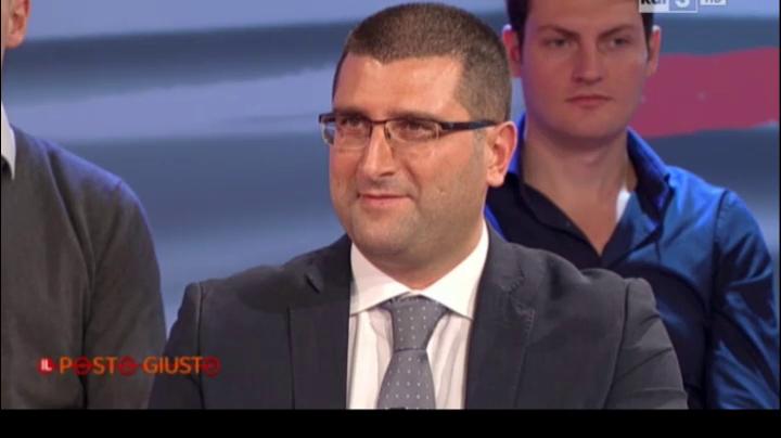 RaiTre Il Posto Giusto - 15.11.2015 - Gianni Marcantonio