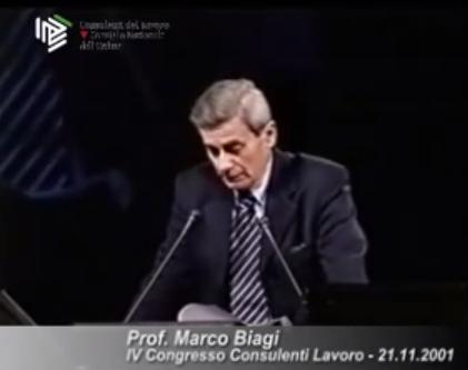 Marco Biagi - Intervento al IV Congresso CDL - 21.11.2001
