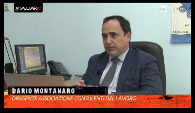 24.03.2015 - Dario Montanaro a Ballarò su 730 Precompilato
