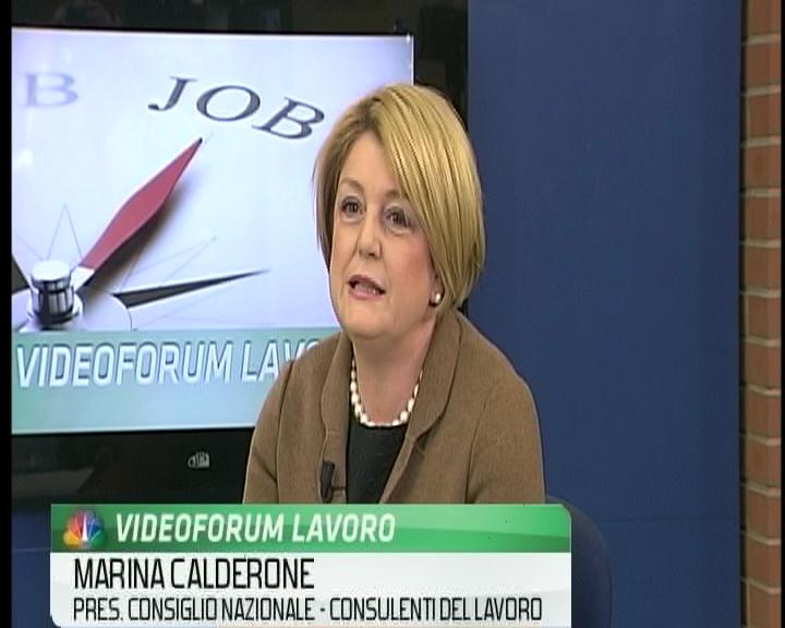 Videoforum lavoro - Marina Calderone