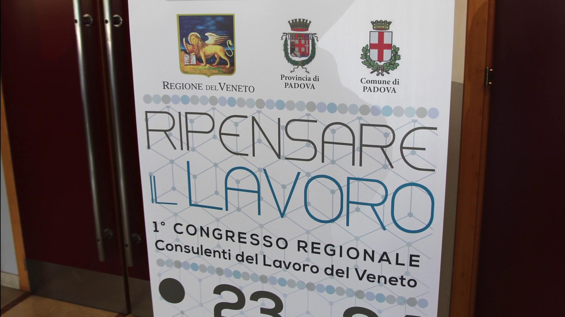 Ripensare il lavoro: il video del 1° Congresso del Veneto