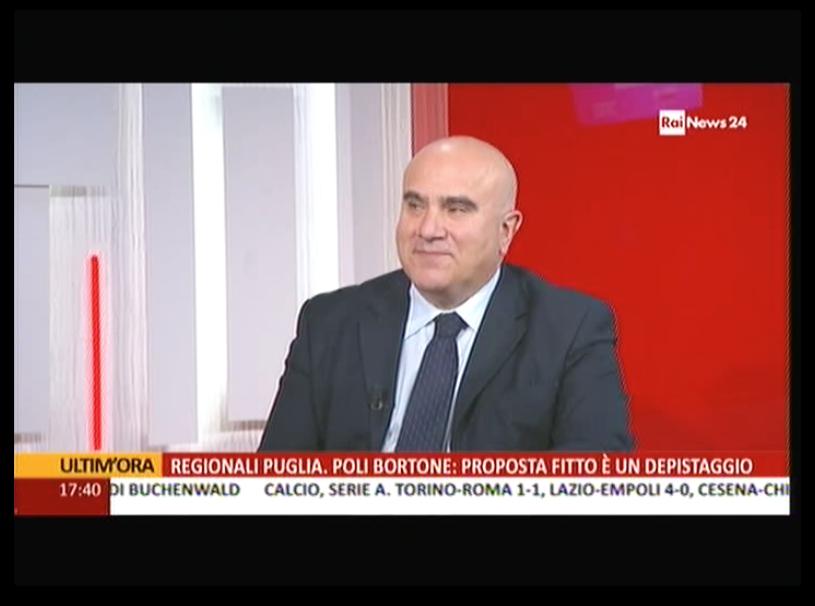 12.04.2015 - De Luca a RaiNews24