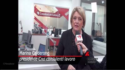 Dicono di noi - Adnkronos - Intervista a M. Calderone