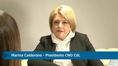 Intervista Presidente Calderone su Bilancio 2016