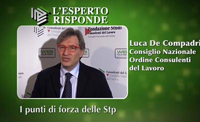 Luca De Compadri - I punti di forza delle Stp