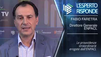 Fabio Faretra - Provvidenze straordinarie ENPACL