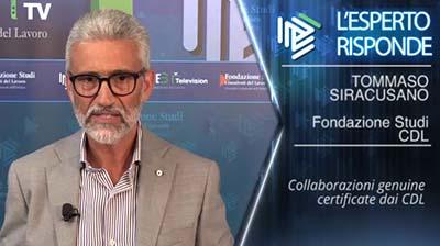 Tommaso Siracusano. Collaborazioni genuine certificate dai CDL