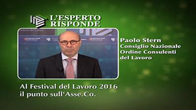 Paolo Stern - Al Festival il punto sull'Asse.Co.