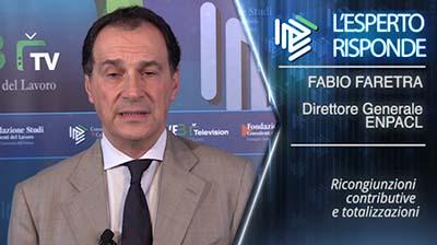 Fabio Faretra. Ricongiunzioni e totalizzazioni