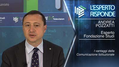 Andrea Pozzatti - I vantaggi della Comunicazione istituzionale