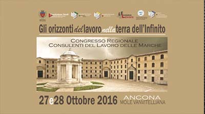 News dal territorio - Congresso Regionale Marche