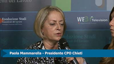 Intervista a Paola Mammarella, Presidente CPO Chieti