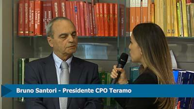 Intervista a Bruno Santori, Presidente CPO Teramo