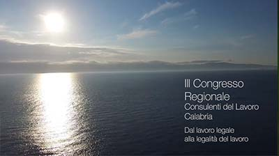 3° Congresso Regionale CDL Calabria - Promo