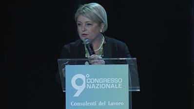 L'inaugurazione del 9° Congresso di Marina Calderone