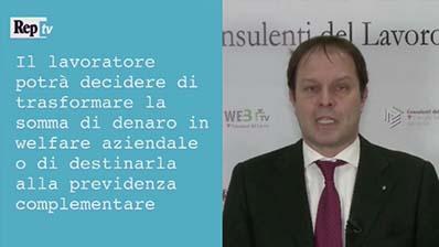 RepTv -  Luca Caratti. La detassazione dei premi di produttività