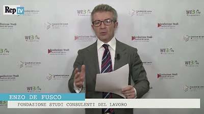 RepTV - De Fusco: Novità pensionistiche per le P.IVA