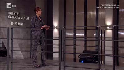Rai Tre. Il posto giusto. Paola Mancini su Incentivi Garanzia Giovani.
