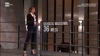 RaiTre. Il posto giusto. Paola Mancini: Contratto a tempo determinato.