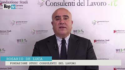 RepTV. Rosario De Luca: La fine dei Voucher