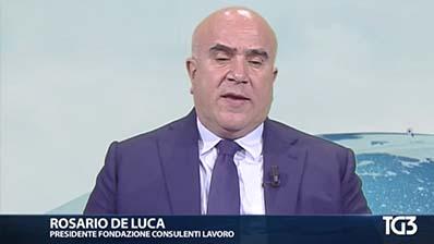 Tg3, 29.04.2017. De Luca su Occupazione Italia