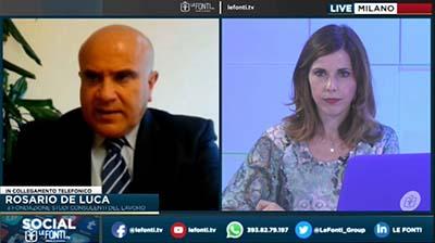 Le Fonti TV 22.06.2017 - De Luca su rapporto Osservatorio Statistico