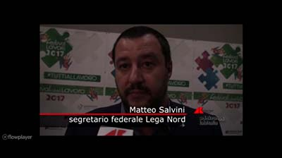 AdnKronos del 28.09.2017 - Intervista a M. Salvini