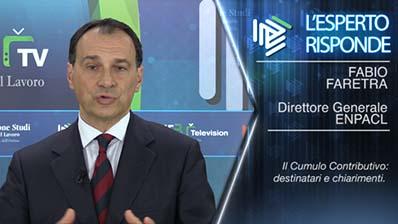 Fabio Faretra - Il Cumulo Contributivo: destinatari e chiarimenti.