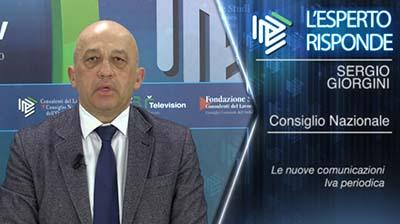 Sergio Giorgini. Le nuove comunicazioni IVA periodiche
