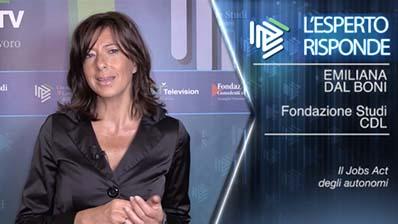 Emiliana Dal Bon. Il Jobs Act degli autonomi