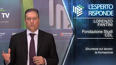 Lorenzo Fantini. Salute e sicurezza: la formazione