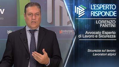 L'Esperto Risponde - Lorenzo Fantini. Lavoratori atipici