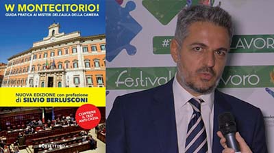 """""""W Montecitorio"""": S. Baldelli sui segreti di palazzo"""
