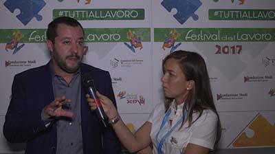 Salvini: eliminare burocrazia per favorire l'occupazione giovanile