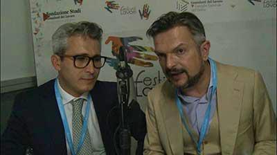 Andrea Cafà al Festival del Lavoro 2017