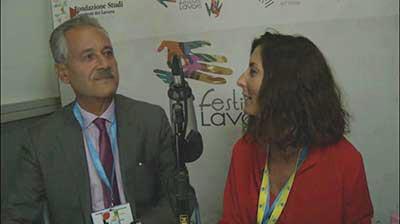 Alfio Catalano al Festival del Lavoro 2017