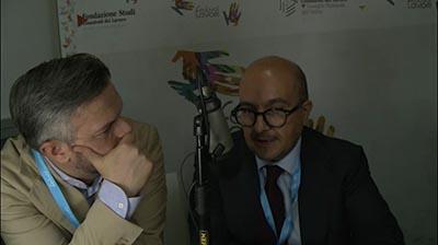 Gennaro Sangiuliano al Festival del Lavoro 2017