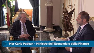 Intervista al Ministro dell'Economia P. C.Padoan