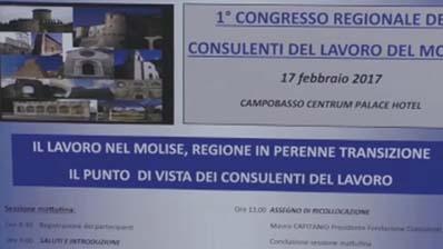 Primo Congresso regionale dei Consulenti del Lavoro del Molise