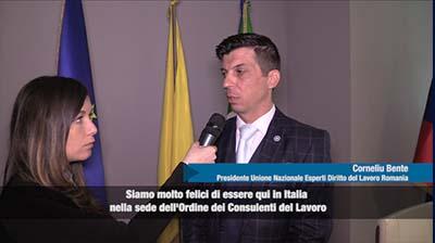 Intervista a Corneliu Bente, Presidente U.N. Esperti Diritto del Lavoro,  Romania