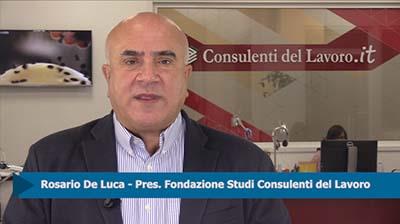 """De Luca: """"Impensabile che il lavoro autonomo possa essere gratuito"""""""