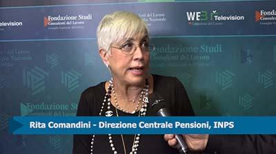 Intervista a Rita Comandini (INPS)