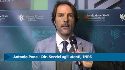 Intervista ad Antonio Pone, INPS