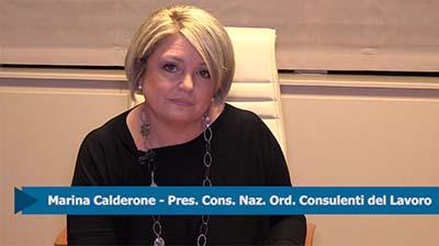 """Calderone: """"Il 30 novembre a Roma per l'Equo compenso"""""""