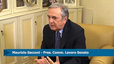 """Equo compenso, Sacconi: """"Governo sostenga iniziativa senza ipocrisia"""""""