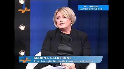 Intervista a Marina Calderone