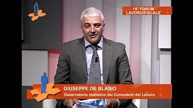 Giuseppe De Blasio - Comunicazione rapporto Italia