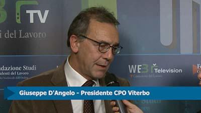Intervista a Giuseppe D'Angelo, Presidente CPO Viterbo