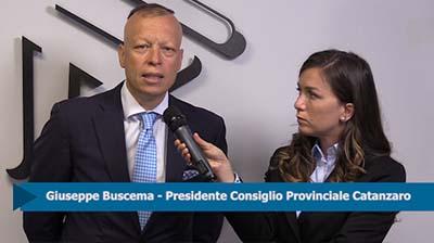 Intervista a Giuseppe Buscema, Presidente CPO  Catanzaro