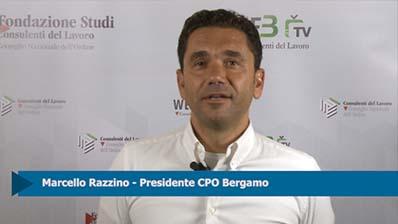 Intervista a Marcello Razzino, Presidente CPO Bergamo